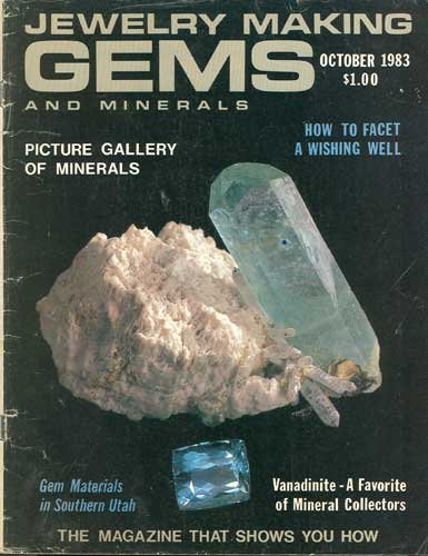 Jewelry Making Gems & Minerals Magazine October 1983