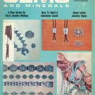 Jewelry Making Gems & Minerals Magazine April 1975