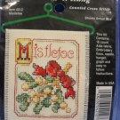 Cross Stitch N Hang Kit - Mistletoe
