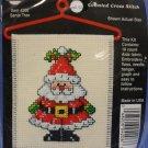Cross Stitch N Hang Kit - Santa