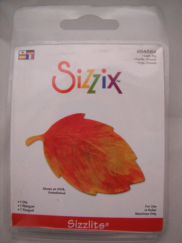 Sizzix Sizzlits Big Leaf Die