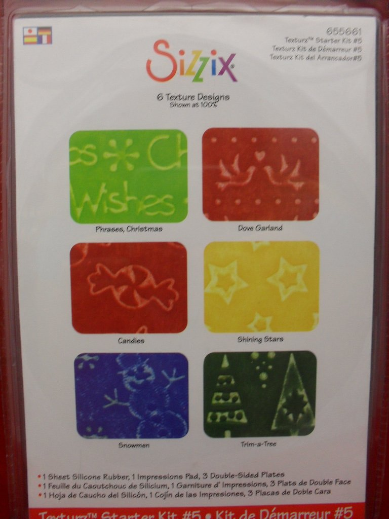 Sizzix Texture Starter Plates Kit #5