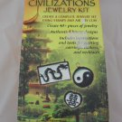 Stone by Stone Civvilizations Jewelry Kit Air Dry Clay