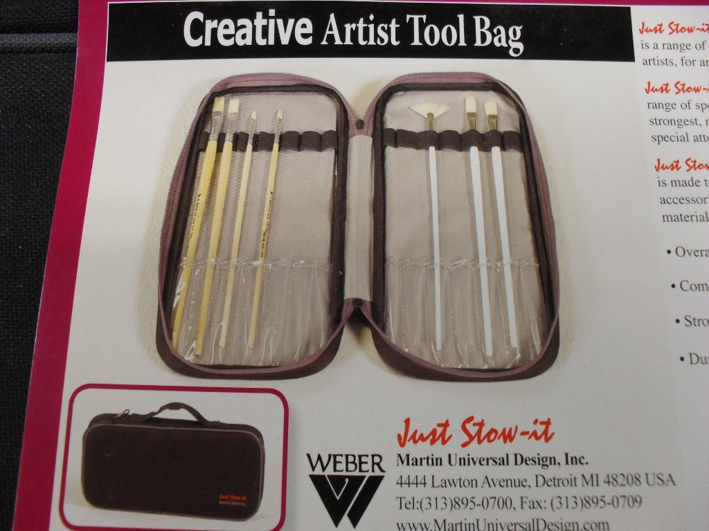 Creative Artist Painter Brush Tool Bag