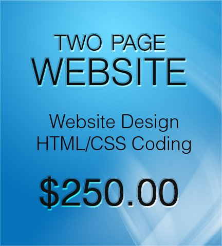 2 Page Website