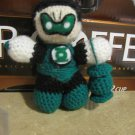 Green Lantern crochet doll: Kyle Rayner