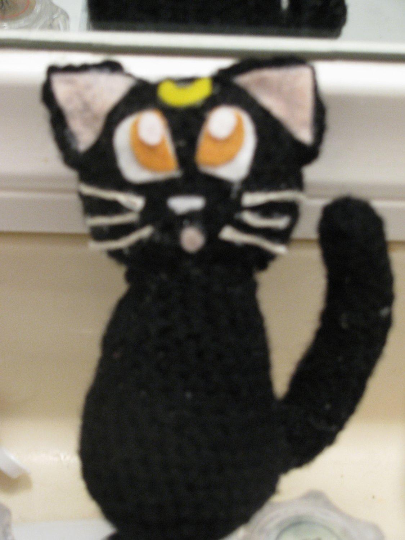 SAILOR MOON crochet doll: LUNA