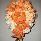 13 Piece Wedding Bouquet Set. True Touch Flowers.