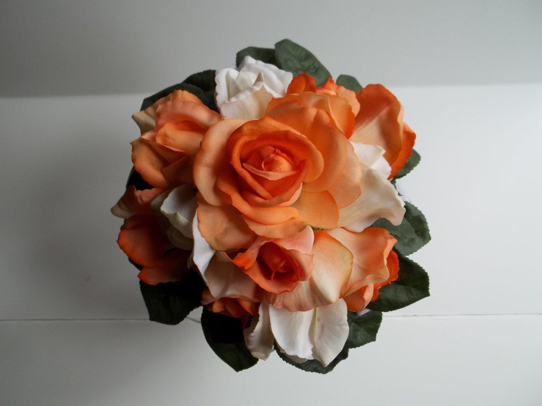 """True Touch 9"""" Wedding Bouquet."""