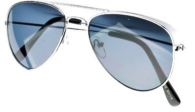 KIDS AVIATOR SUNGLASSES SILVER FRAME PILOT STYLE AGES 5 - 10