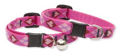 "Lupine ""Puppy Love"" Cat Safety Collar Adjustable 8 -12"""