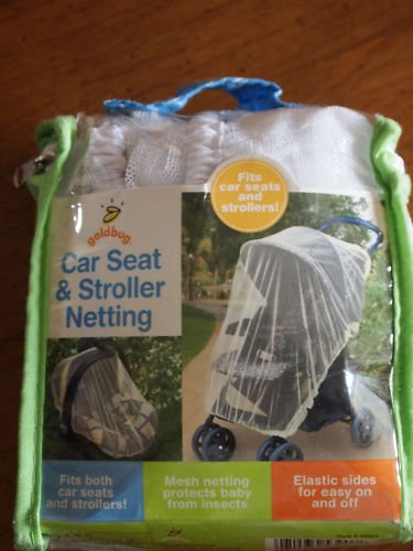 GOLDBUG CAR SEAT AND STROLLER NETTING  - NEW