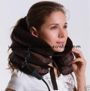 Health Massager Cervical Neck Traction For Head Back Shoulder Pain Freeshipping