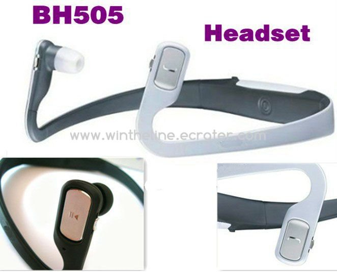 BH-505 Neckband Stereo Wireless Bluetooth Headset for Nokia BH505 -- Freeshipping