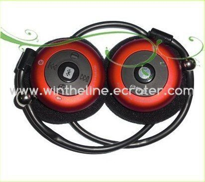 Evere T909S Bluetooth Wireless Stereo Headphone support A2DP Red -- Freeshipping