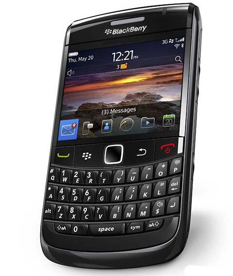 Blackberry Bold 9780 - Black