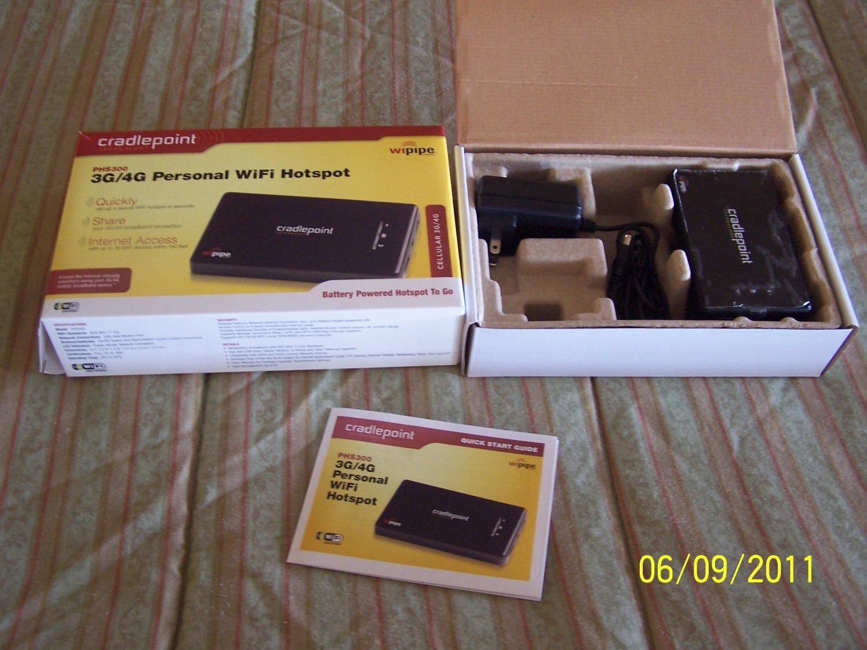 Cradlepoint PHS300 PHS 300 3G/4G Wifi Hotspot