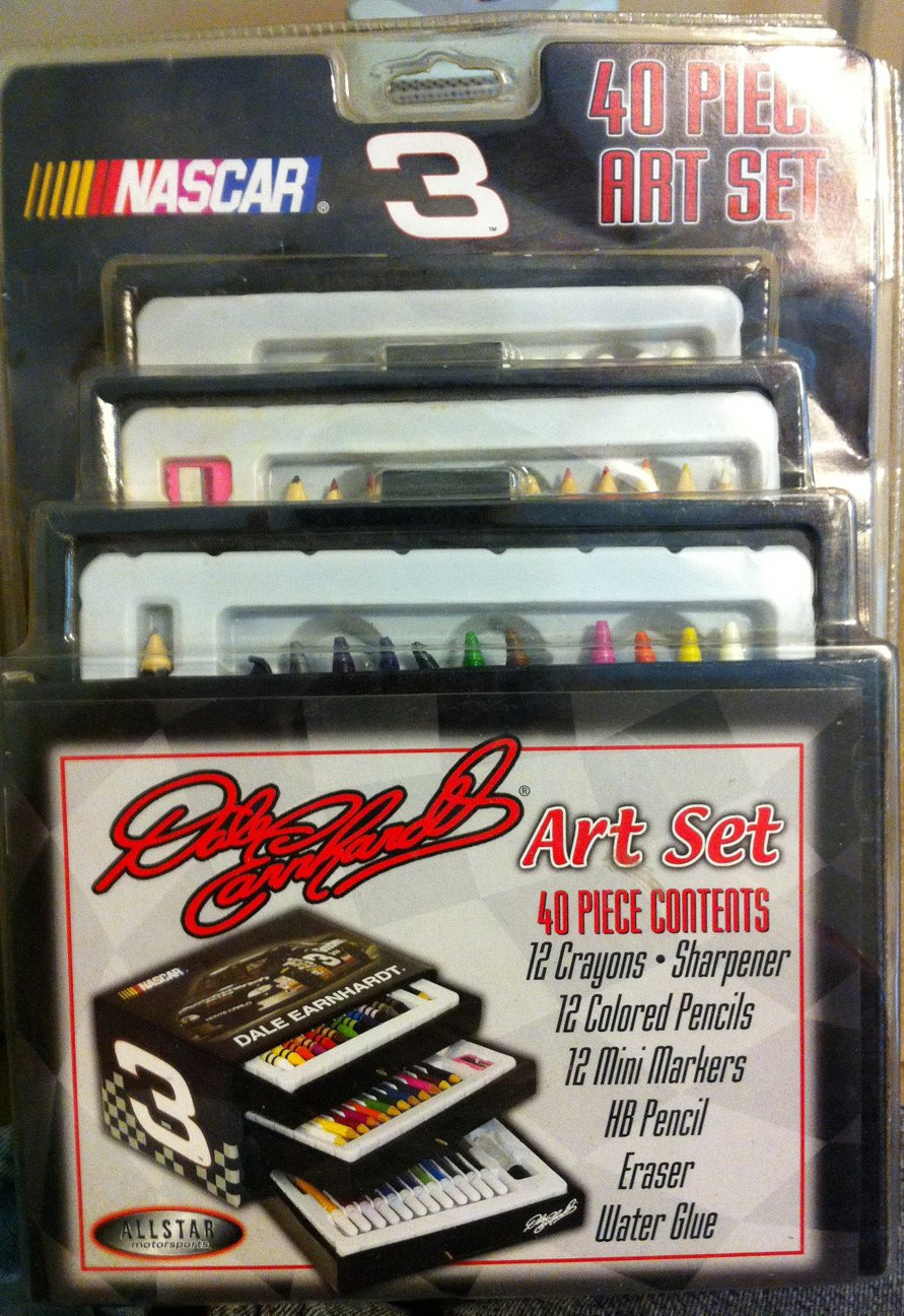 Dale Ernhart 40 Piece Art Set