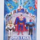 Justice League UnLimited Superman, Aztec, Sinestro