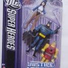 Justice League UnLimited  Zatanna, Batman, Shining Knight