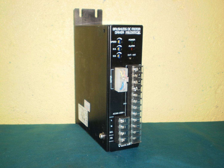 Oriental motor fbld1200w brushless dc motor drive for Brushless dc motor drive