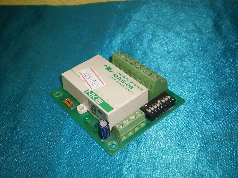 Lot 2pcs NKE Uni-wire Ststem MAS-08 Input Master Module