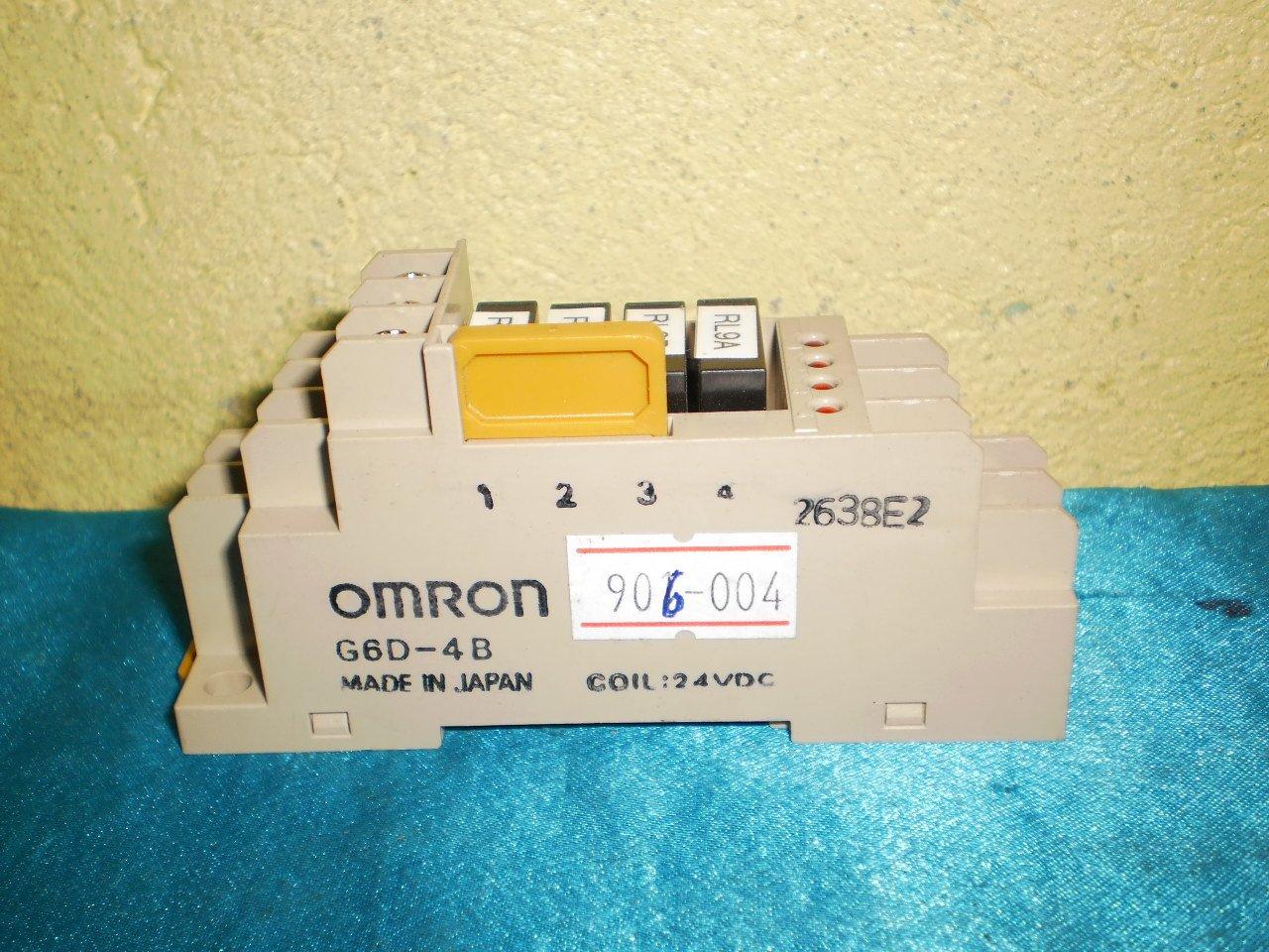 Lot 2pcs. Omron G6D-4B Relay
