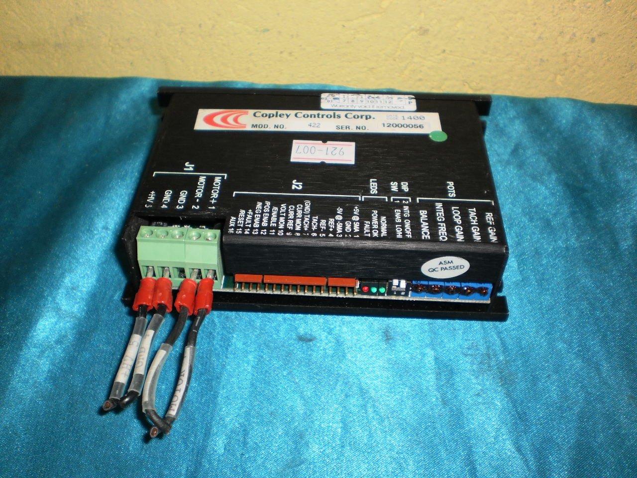 Copley Controls 422 Control