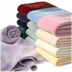"Dbl Vellux Blankets 80 x 90 "" case of 4"""
