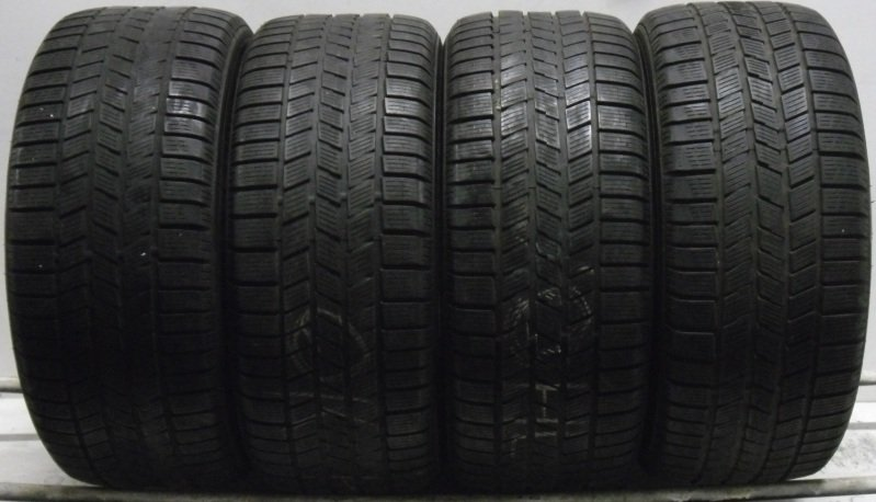 4 2454517 Pirelli 245 45 17 Winter MO Part Worn Used Tyres