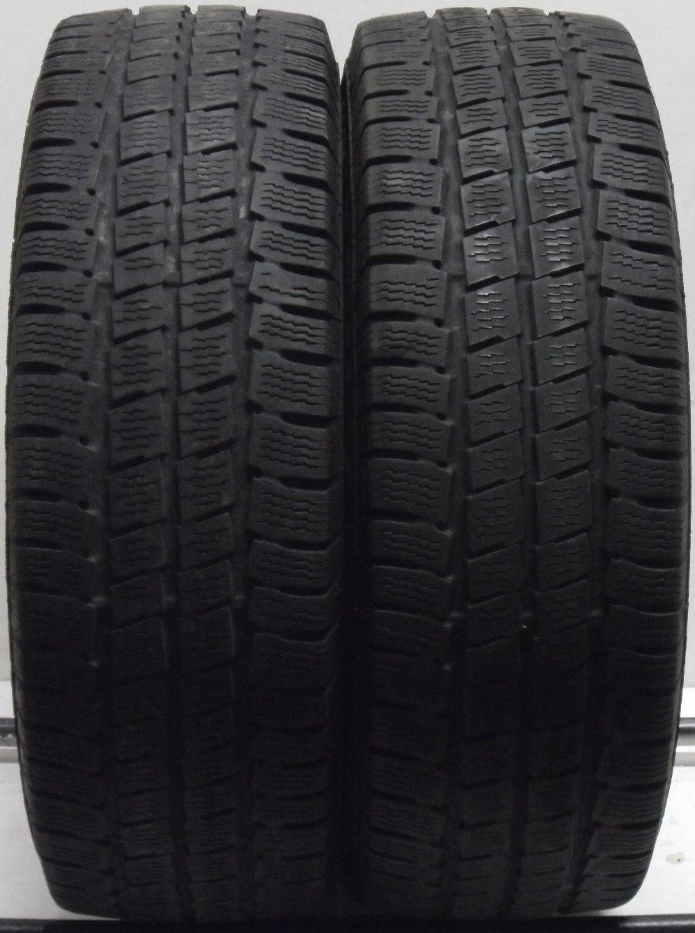 2 2156516 Uniroyal 215 65 16 Van Winter Part Worn Tyres Snow Max x2 Two 5mm-6mm