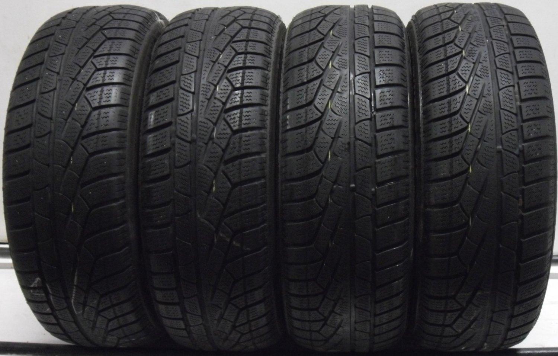 4 1955516 Pirelli 195 55 16 Part Worn Car Tyres Winter M0 Mercedes 210 Sottozero 4mm to 5mm