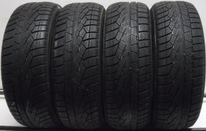 4 1955516 Pirelli 195 55 16 Part Worn Car Tyres Winter M0 Mercedes 210 Sottozero 4mm to 5mm