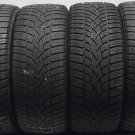 4 2454517 Dunlop 245 45 17 WINTER Part Worn Car Tyres SNOW Sport 3D x4 Four 4mm to 5mm