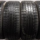 4 2255017 Michelin 225 50 17 Part Worn Car Tyres WINTER SNOW Pilot Alpin PA2 x4 4mm to 5mm