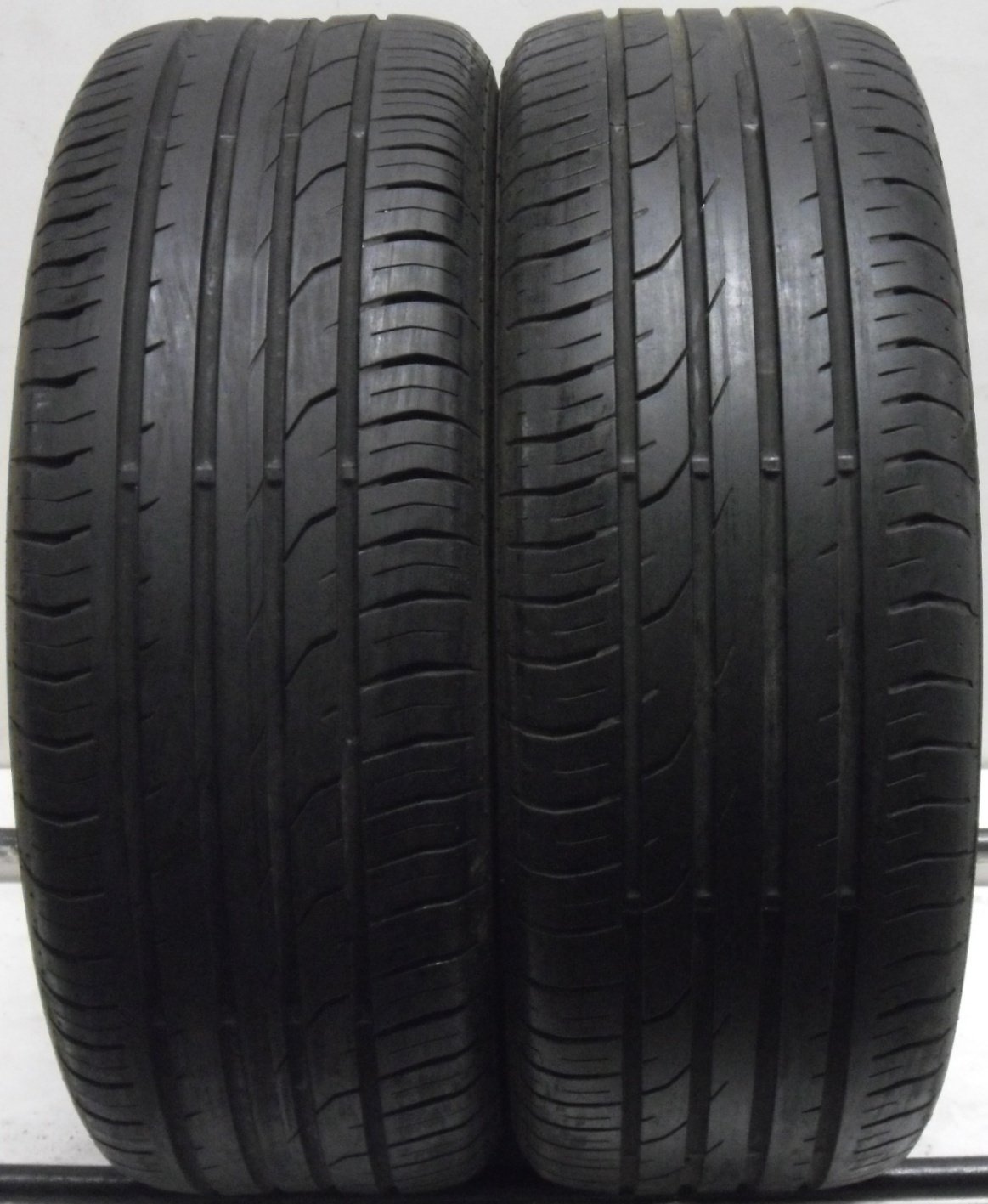 2 2155517 Continental 215 55 17 Part Worn Car Tyres Premium Contact 2 x2 Two 4mm to 5mm