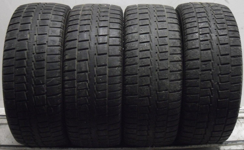 4 2556017 Cooper 255 60 17 Winter Snow Part Worn Tyres 4mm to 5mm