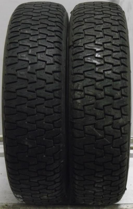 2 16065340 Michelin 160 65 340 TRX AS Part Worn Tyres