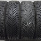4 1856515 Semperit 185 65 15 Mud Snow Winter Part Worn Used Tyres x4