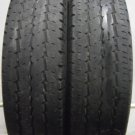 2 1957516 Continental 195 75 16 Vanco 8 Van Part Worn Used Tyres x2