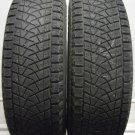 2 2158015 Bridgestone 215 80 15 Blizzak DM Z3 Part Worn Used Tyres x2