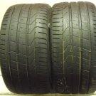 2 2953520 Pirelli 295 35 20 Pzero Part Worn Used Tyres x2