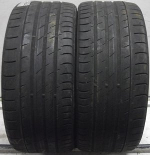 2 2453020 Continental 245 30 20 Conti Sport Contact 3 Part Worn Tyres x2