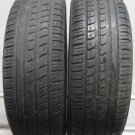 2 2056015 Pirelli 205 60 15 P7 Part Worn Used Car Tyres x2