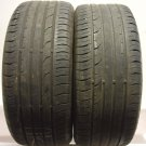 2 2255016 Continental 225 50 16 Conti Premium Contact 2 Part Worn Used Tyres x2