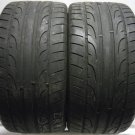 2 2853020 Dunlop 285 30 20 Part Worn Used Tyres Drift Drifting Track Race Day x2