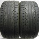 2 2454017 Dunlop 245 40 17 SP Sport Maxx Part Worn Used Tyres x2