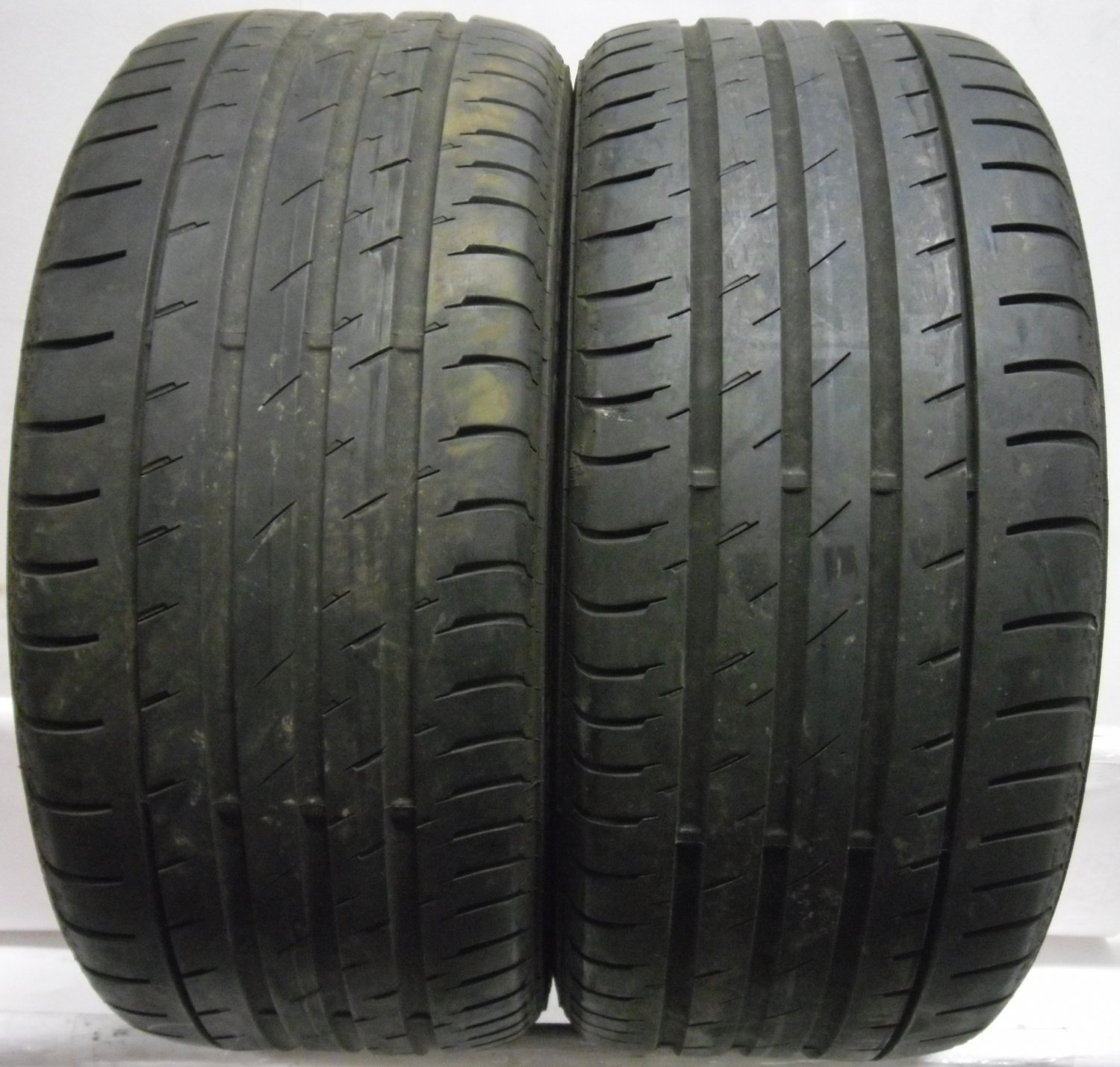 2 2454017 continental 245 40 17 conti sport contact 3 part worn used tyres x2. Black Bedroom Furniture Sets. Home Design Ideas