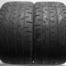 2 285/30/19 Pirelli 285 30 19 Drift Race Drifting Worn Used Tyres Left Right x2