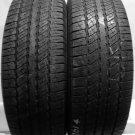 2 2657017 Goodyear 265 70 17 Part Worn Used 265/70 17 Car Tyres x2 Wrangler HP